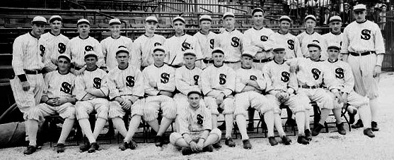 The 1915 Chicago White Sox team.