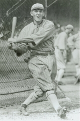 Buck takes a swing, 1917.