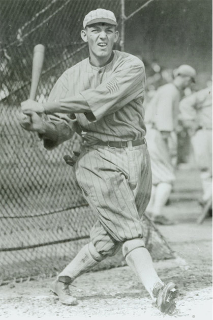 Buck takes a swing, 1917.