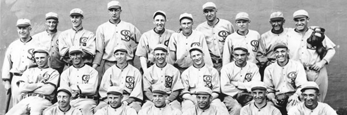 "1919 Team Shot with George ""Buck"" Weaver."