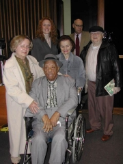 ClearBuck ambassadors attend the 2003 Lincoln Chicago Inn of Court retrial for Joe Jackson and Buck Weaver.