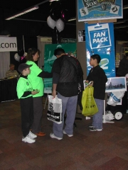 The ClearBuck booth at SoxFest.
