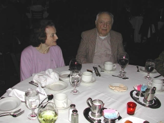"""""""The Ginger Kid"""" author Irv Stein with his wife Lois."""