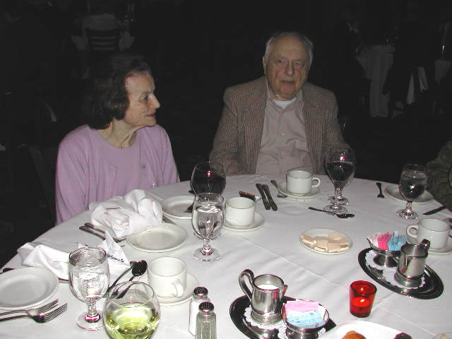"""The Ginger Kid"" author Irv Stein with his wife Lois."