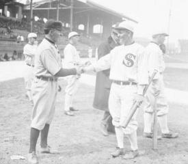 Buck on the field in 1913.