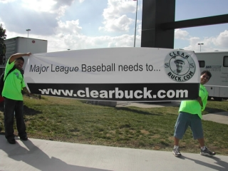 The ClearBuck.com banner.