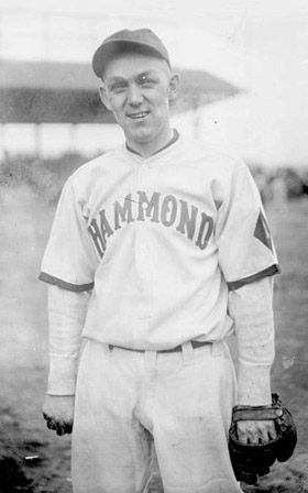 Buck with Hammond, IN in 1927.