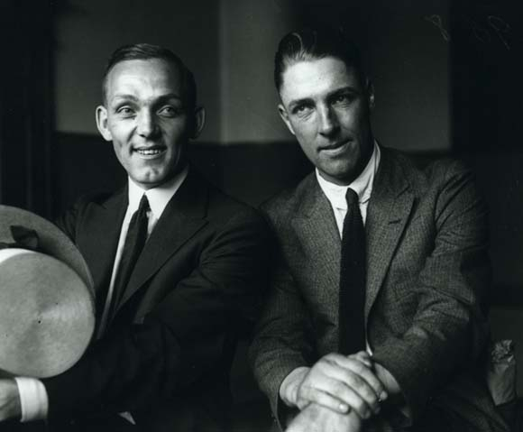 Buck Weaver and Swede Risberg.